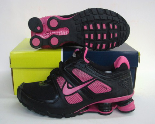 Women Nike Shox Turbo Black Red