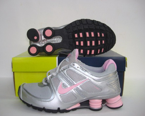 Women Nike Shox Turbo Grey Silver Pink