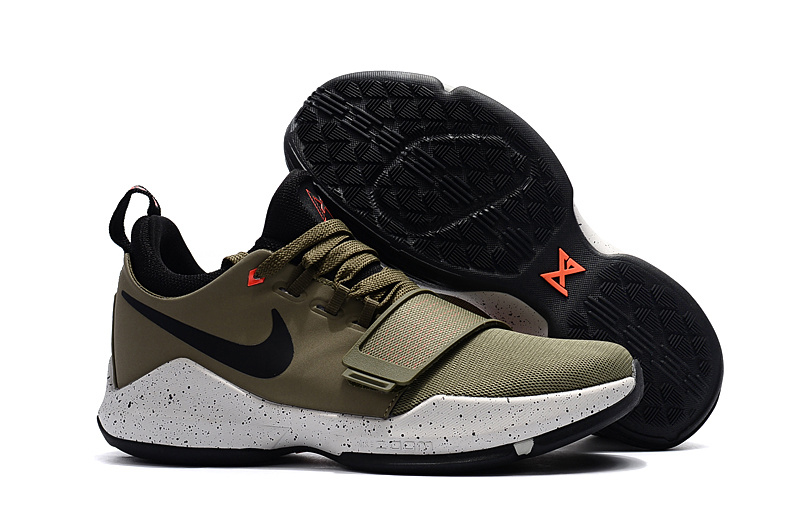 Women Nike Zoom PG 1 Khaki Shoes