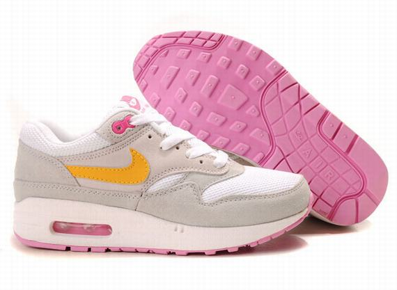 Womens Nike Air Max 87 With Grey Pink Shoes