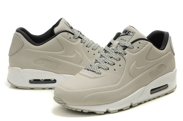 Womens Nike Air Max 90 VT Shoes Light Grey White