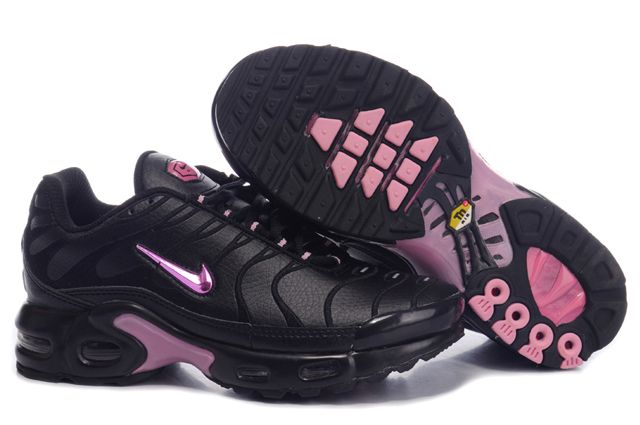 Womens Nike Air Max TN Black Pink Shoes