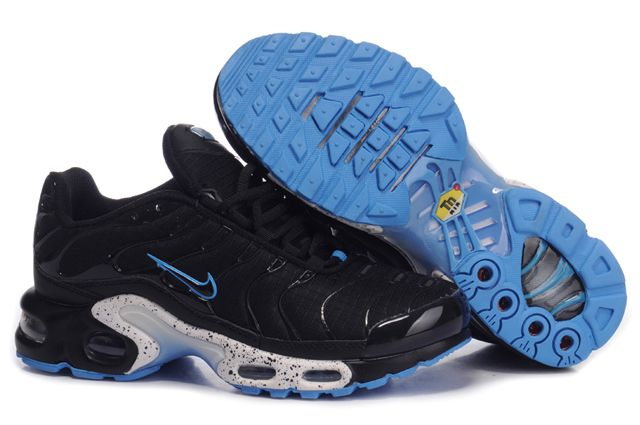 Womens Nike Air Max TN With Black Blue Shoes