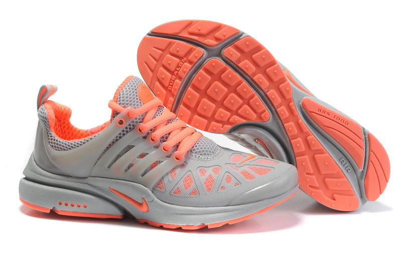 Womens Nike Air Presto 2011 Grey Orange