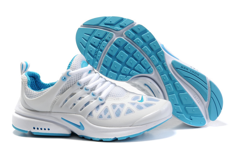 Womens Nike Air Presto 2011 White Blue Shoes
