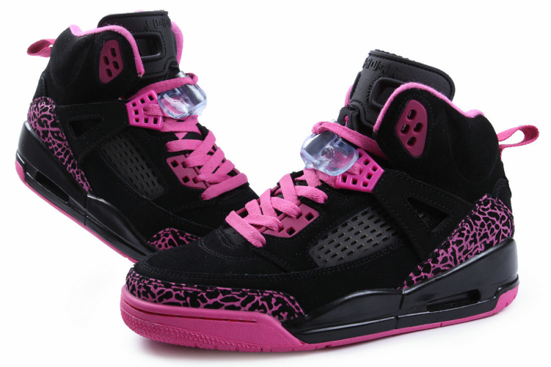 Nike Jordan Spizike Shoes For Women Black Pink